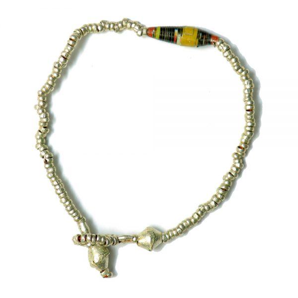 Beautiful Ethiopian Paper Bead Bracelet