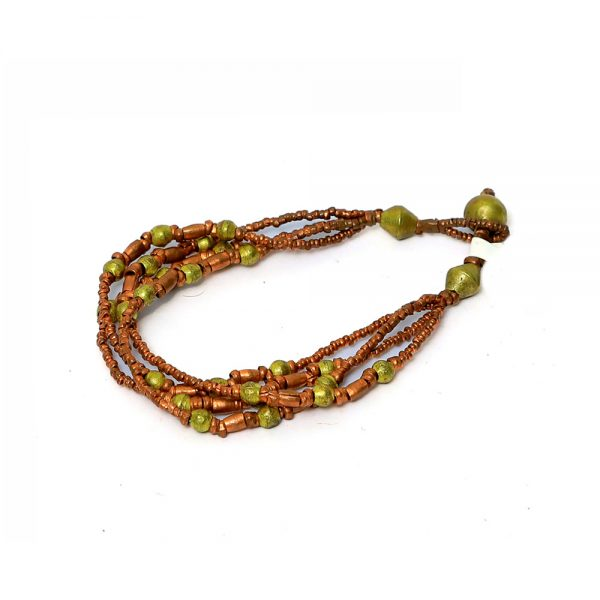 Ethiopian Stylish copper and Brass Mix Bracelet