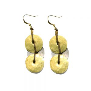 Ethiopian Earring From Recycled Material