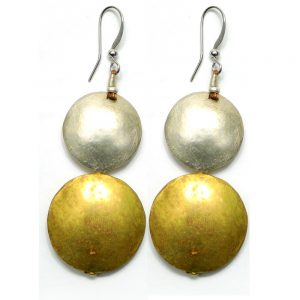 Ethiopian Beautiful Earring from Recycled Bullet Casing