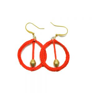 Colorful Hand Made Earring