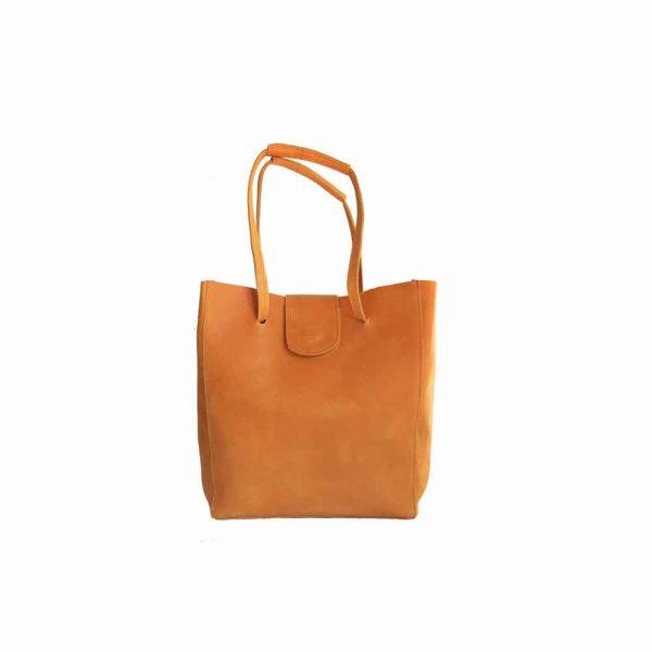 Beautiful Ethiopian Leather Shoulder Bag