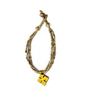 Ethiopian Beautiful Cross Bracelet